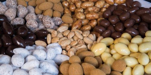 amandel chocolade coating drageren