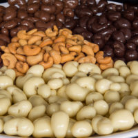 cashews chocolade coating drageren