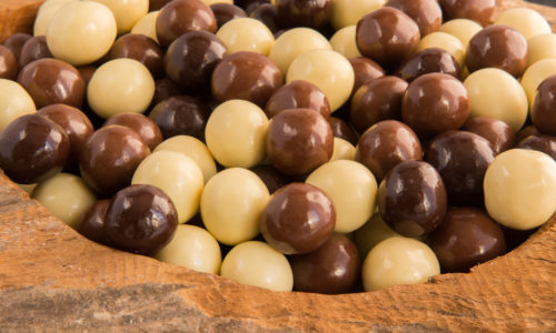 chocola, vanille