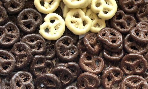 Chocolateerde Pretzels